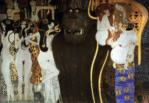 Klimt's Beethoven Frieze at the Secession